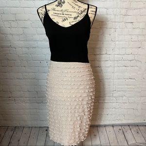 LUSH TANK /POLKA DOT RUFFLED pale pink dress